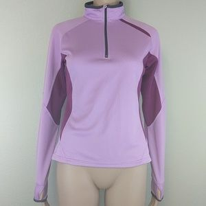 [Nike] Sphere Dry Purple Half Zip Pullover